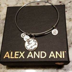 Virgo Alex and Ani charm bangle